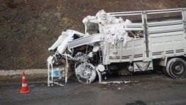 Otobanda feci kaza! 4 ölü, 1 yaralı